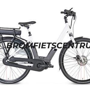 Kymco City Comfort E-bike in Wit en een Middenmotor