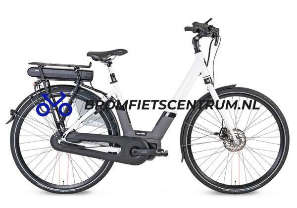 Kymco City Comfort E-bike in Wit en een Middenmotor