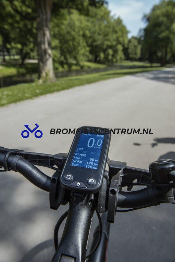 Kymco city comfort3 met fietscomputer