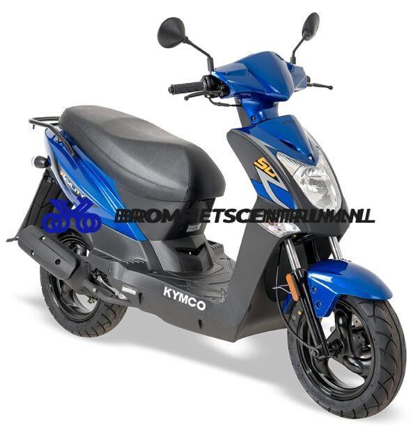Kymco Agility 12 FR in Blauw met een Lang Zadel E4