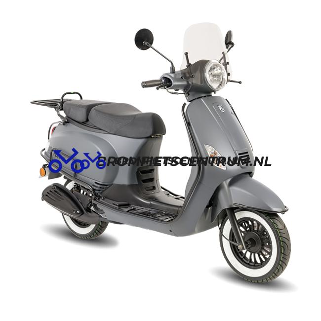 Riva Scooter luxury mat blauw